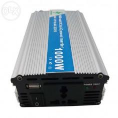 Invertor convertor de curent 1000W la 12 V - Invertor curent