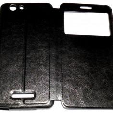 Husa Protectie Toc Flip Cover Allview V2 Viper X + ( Plus ), Negru, Piele Ecologica