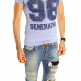 Tricou tip ZARA - tricou barbati - tricou slim fit - tricou fashion - 6522