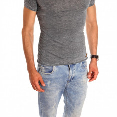Tricou tip ZARA - tricou barbati - tricou slim fit - tricou fashion - 6512, Marime: S, M, L, XL, Culoare: Din imagine