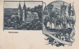 MARIARADNA (ARAD) , MANASTIREA , MULTIME , STEAGURI , CIRCULATA APR.1917, Printata