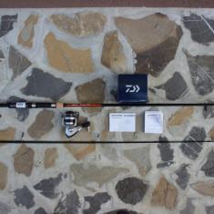 Lanseta Okuma Fina Pro Spinning 2, 7 O.OKR.48266 + Mulineta Daiwa Sweepfire 1500 - Set pescuit