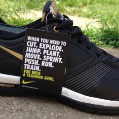Adidasi originali NIKE ZOOM FLY QUICK - Adidasi barbati Nike, Marime: 39, Culoare: Negru, Piele naturala