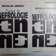 TRATAT DE NEFROLOGIE VOL. I - II de NICOLAE URSEA, 1994
