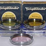Filtre foto Voigtlander filet 40,5 - West Germany - Transport gratuit prin posta, 40-50 mm, Altul
