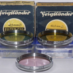 Filtre foto Voigtlander filet 40, 5 - West Germany - Transport gratuit prin posta - Filtru foto, 40-50 mm, Altul