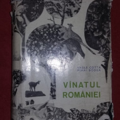 Vanatul Romaniei - VASILE COTTA - Carte Biologie