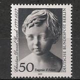 Berlin.1977 200 ani nastere Ch.D.Rauch-sculptor SB.813 - Timbre straine, Nestampilat