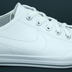 Adidasi originali NIKE GO - Adidasi barbati Nike, Marime: 44, Culoare: Alb, Piele naturala