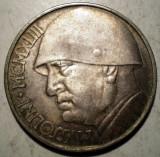 E.064 MEDALIE 20 LIRE BENITO MUSSOLINI 1943 15,4g/35,5mm, Europa