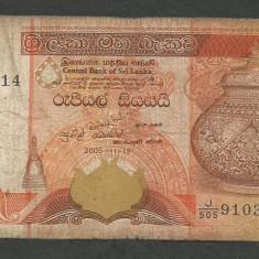 SRI LANKA 100 RUPII RUPEES 2005 [1] P-118c - bancnota asia