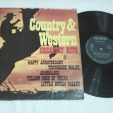 DISC VINIL COUNTRY&WESTERN GREATEST HITS II EDE 01838