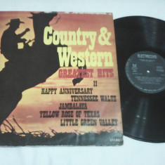 DISC VINIL COUNTRY&WESTERN GREATEST HITS II EDE 01838 - Muzica Country