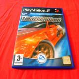 Joc NFS Need For Speed Underground, PS2, original, alte sute de jocuri!