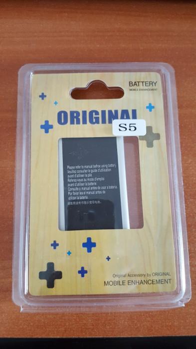 Baterie Acumulator Samsung Galaxy S5 G900F 2800mAh + CADOU FOLIE DISPLAY
