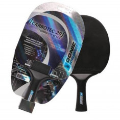 DONIC Paleta tenis de masa Allround+ CarboTec 20 concava - Paleta ping pong
