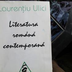 LITERATURA ROMANA CONTEMPORANA  L. ULICI