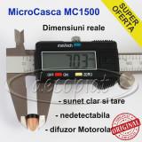 MicroCasca MC-1500 MicSpy cu colier si baterie Sony pt CASCA de COPIAT la examen
