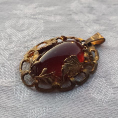 Medalion Rusia 1900 Vintage executat manual montura alama Elegant de Efect
