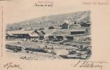 SLANIC PRAHOVA  SALUTARI DIN ROMANIA   ASEZARI LA MINELE DE SARE , CIRC.JUL.1902, Circulata, Printata