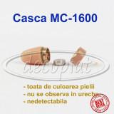 Sistem de micro CASCA MC-1600 CASTI de culoarea pielii si colier cu fir BAC 2016