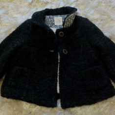 Palton Zara Baby 9/12 luni, 9-12 luni, Fete