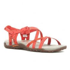 Sandale pentru dame Merrell Terran Lattice Red Clay (MRLJ22232-RED) - Sandale dama Merrell, Culoare: Rosu, Marime: 36