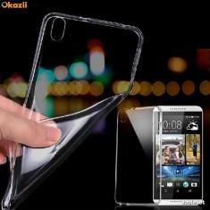 Husa HTC Desire 530 TPU Ultra Thin 0.3mm Transparenta - Husa Telefon HTC, Gel TPU, Fara snur, Carcasa