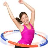 Hula Hoop Masaj cu Magneti - Adult fitness workout massage ring !!