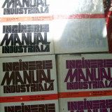 MANUAL DE INGINERIE INDUSTRIALA H.B.MAYNARD VOL, 1, 2, 3, 4 - Carti Industrie alimentara