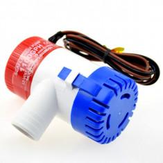 Pompa apa submersibila 12V 1100GPH = 4000 litrii pe ora - Pompa gradina