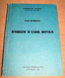 Introducere in studiul Dreptului - Dan Ciobanu