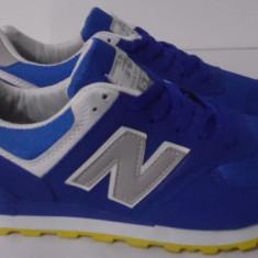 Adidasi NEW BALANCE 574 - Adidasi barbati New Balance, Marime: 41, 42, Culoare: Albastru, Textil
