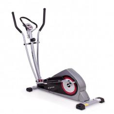 Bicicleta eliptica Corner carbon/rosu - Bicicleta fitness SPORTMANN