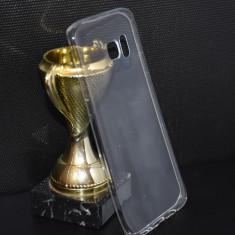 Husa Samsung Galaxy S7 Edge UltraSlim Silicon TRANSPARENTA protectie - Husa Telefon