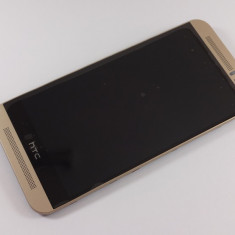 HTC One M9 Display nou Ansamblu complet cu touchscreen si rama geam sticla GOLD - Display LCD