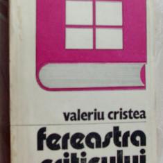 VALERIU CRISTEA-FEREASTRA CRITICULUI, 1987(Malancioiu/Robescu/Danilov/Ion Horea+)