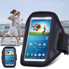 Armband husa brat telefon pt alergat pentru Samsung S3 S4 S5 S6 HTC M8 LG Nexus, Alt model telefon Samsung, Negru