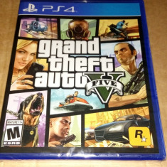 Grand Theft Auto V, GTA V, PS4, original si sigilat, alte sute de jocuri! - Jocuri PS4, Actiune, 18+, Single player