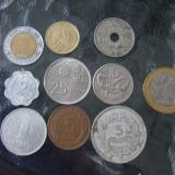 JN. Lot 10 monede, Germania, Mexic, Malta, Danemarca, Franta, Italia, etc, Europa, An: 2008