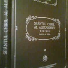 PSB 40 -SFANTUL CHIRIL AL ALEXANDRIEI -SCRIERI -PARTEA A TREIA (1994) - Carti ortodoxe