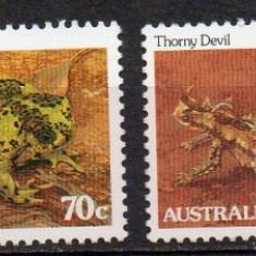 Australia 1983, Fauna, serie neuzata, MNH - Timbre straine, Nestampilat