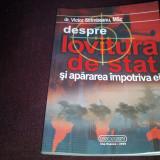 VICTOR STRIMBEANU - DESPRE LOVITURA DE STAT SI APARAREA IMPOTRIVA EI - Istorie