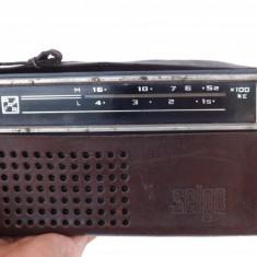 Aparat de radio portabil.Dimensiuni mici, made in CCCP.Rereducere! - Aparat radio, Analog