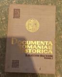 Documenta Romaniae Historica Relatii intre Tarile Romane