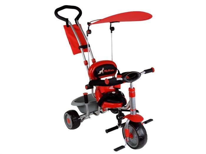 Tricicleta Pentru Copii Mykids Rider A908-1 Rosu foto mare