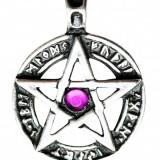Pandantiv viking Pentagramă cu rune - Pandantiv fashion