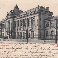 IASI , IASSY , UNIVERSITATEA , CLASICA , CIRCULATA OCT.1902, Printata