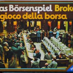 Joc de familie Bursa (Broker) de la Ravensburger, vintage, 1967, colectie - Jocuri Logica si inteligenta