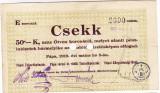Ungaria Sovietica revolutia bolsevica CEC Csekk  orasul Papa 1919